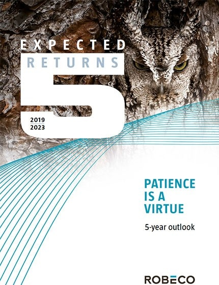 Outlook 2019-2023 - 5-year Expected Returns