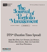 Duration Times Spread: a measure of spread exposure in credit portfolios